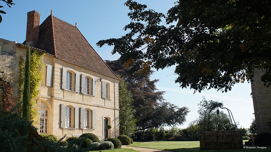 Belair-Monange chateau; photo credit Ben