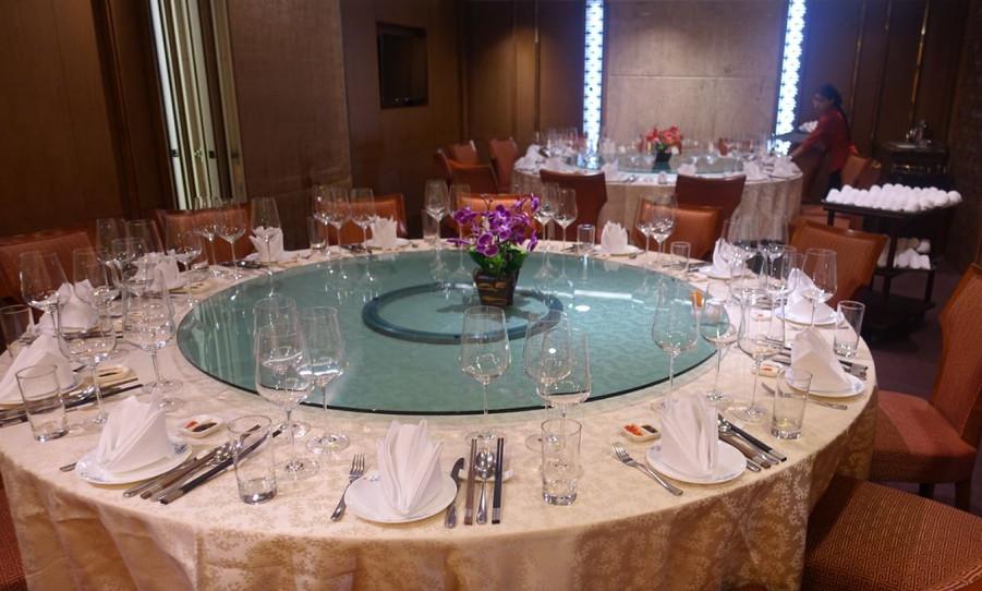 Setting of Troplong-Mondot Wine Dinner at Chefman Radjadamri branch