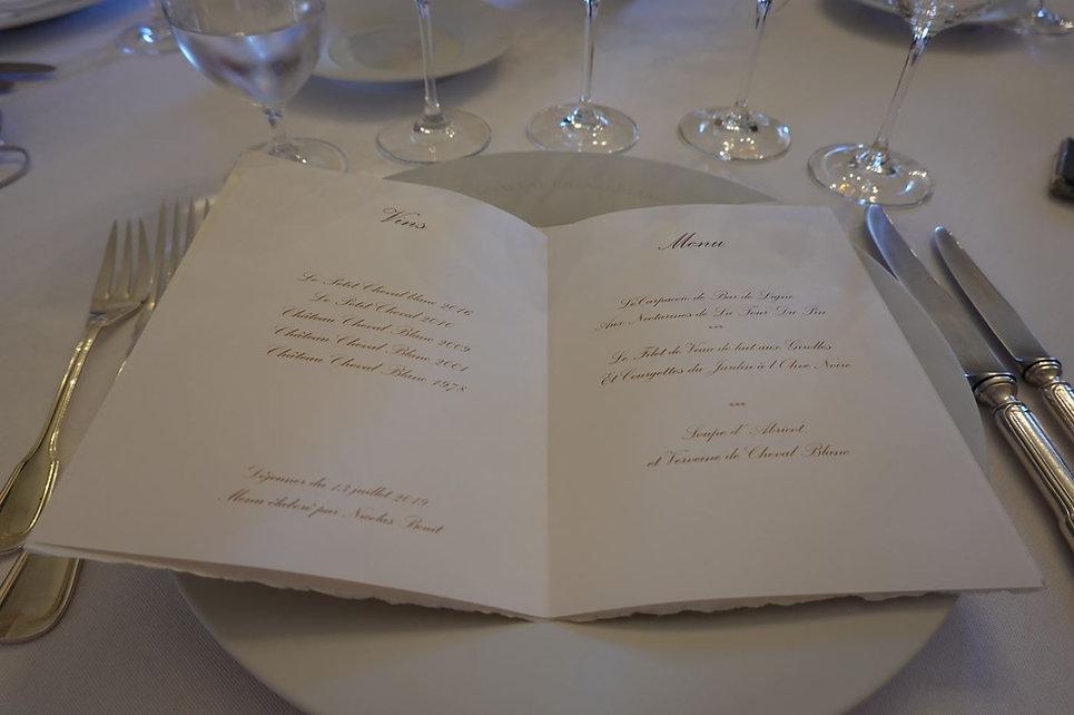 Cheval Blanc Menu.JPG