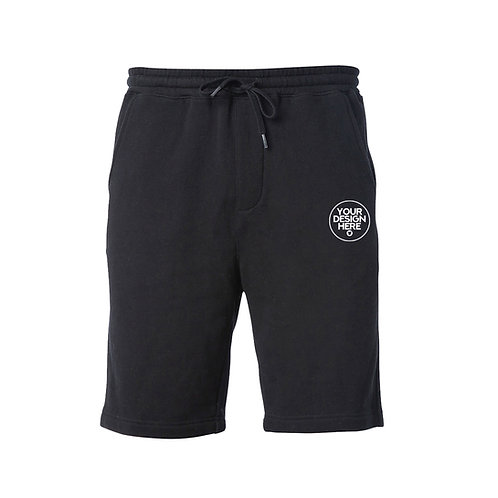 Embroidery on Independent Fleece Shorts
