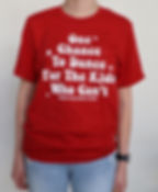 One chance shirt.JPG