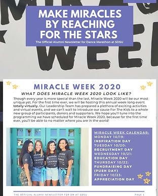 Miracle Week Alumni Newsletter.jpg