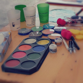 Stand maquillage