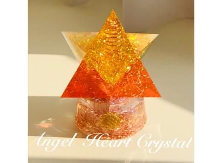 新商品オルゴナイト「陽の光」を公開しました。