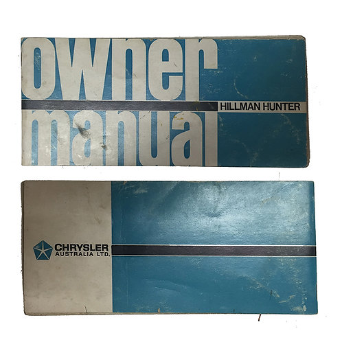 HB Service Manual Unused