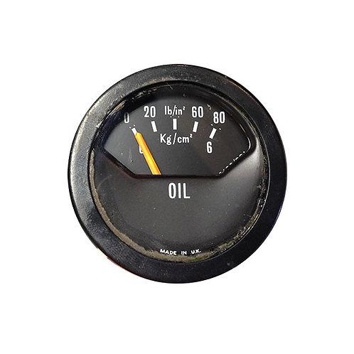 Oil pressure gauge