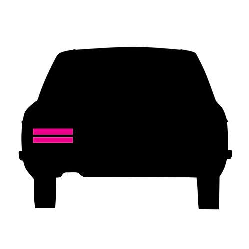 HE rear tail light assemblies (1 x set) PS