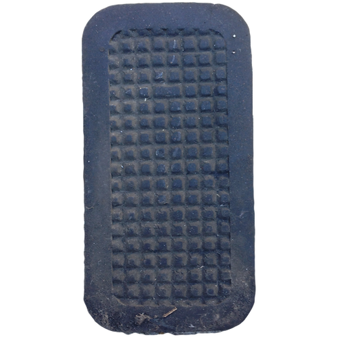 Auto brake pedal rubber