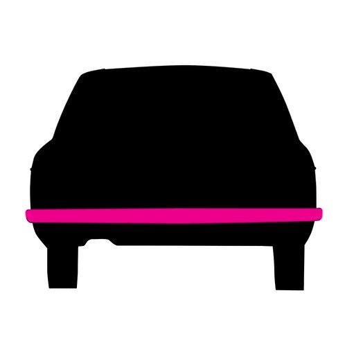 Rear bumper bar