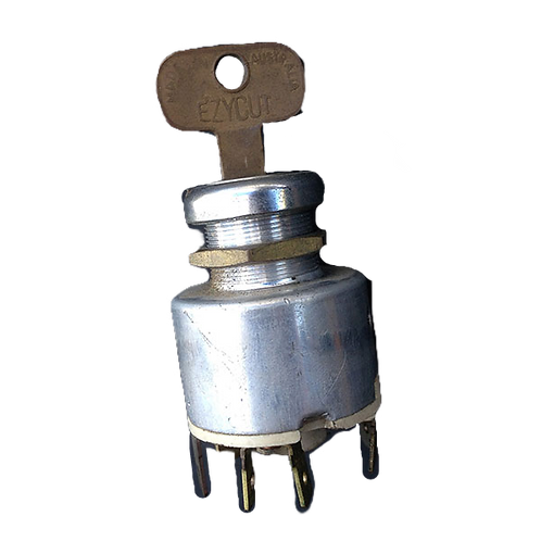 Ignition barrel and key