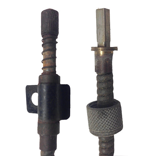 Speedometer trip reset cable