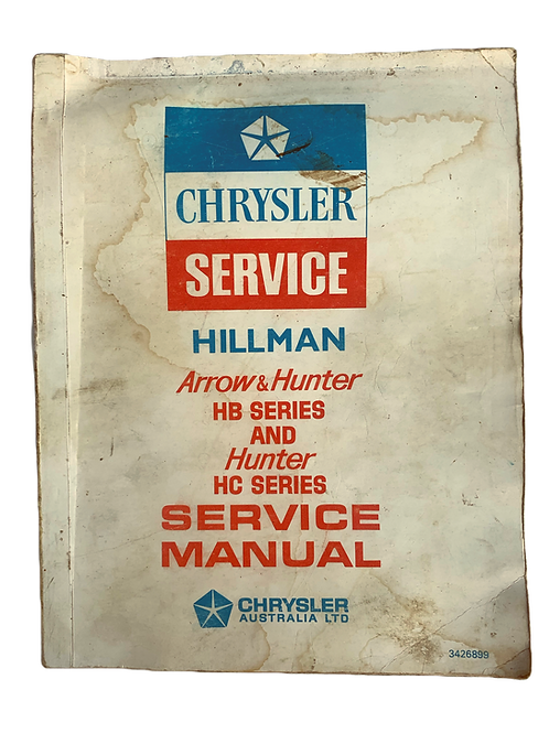 HB HC Service Manual