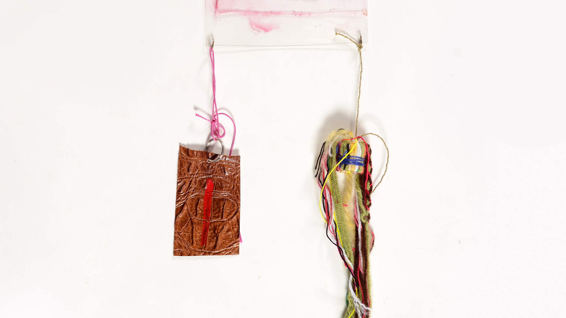 Talisman#1,mixed media with engraved plastic,15/40cm,2019