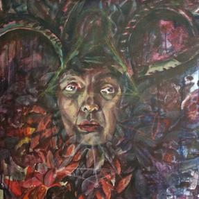 Shimri,acrylic on canvas,30/50cm,2009