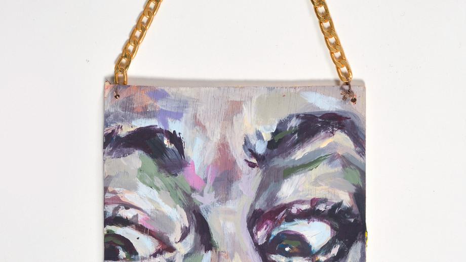 Downers,acrylic on wood,10/18cm,2020