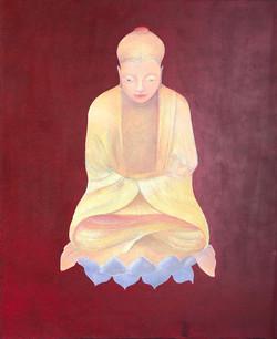 Buddha on lotus flower