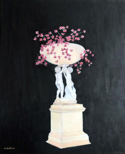 Vasque de fleurs, jardin du Luxembourg
