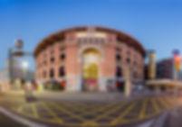 Edificio de Les Arenes de Barcelona, antiga plaça de toros