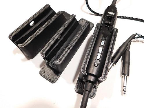 LightSpeed Zulu 3 or  Sierra Headset Control Module Mount / Holder