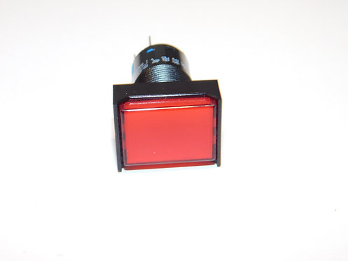 12V Push Button LED Annunciator Panel Replacement 16mm light ( Red )