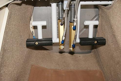 RV12 Rudder Pedal Extensions