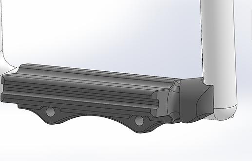 RV7 - RV9 Split Rudder Pedal Extensions