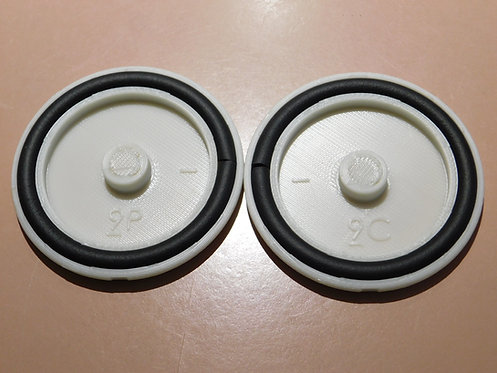 Fuel Cap Cover RV9 Set