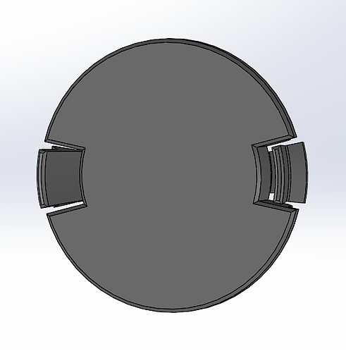 Clip-in Panel Instrument Hole Cover