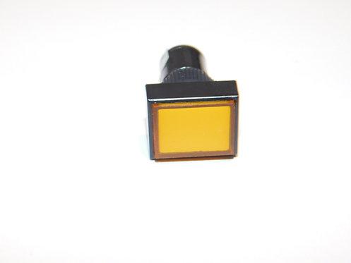 12V 12mm LED Panel Light (Orange)