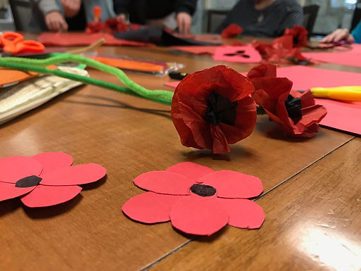 Remembrance Day Poppy Workshop