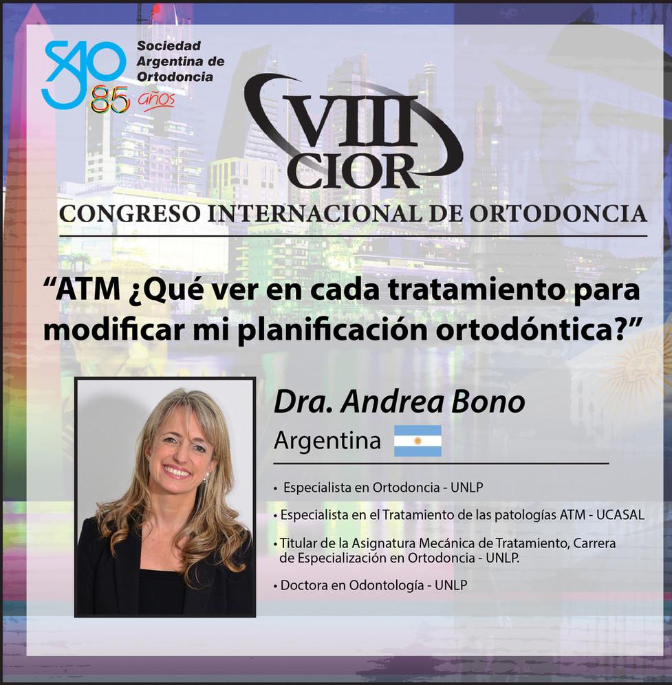 Dra. Andrea Bono