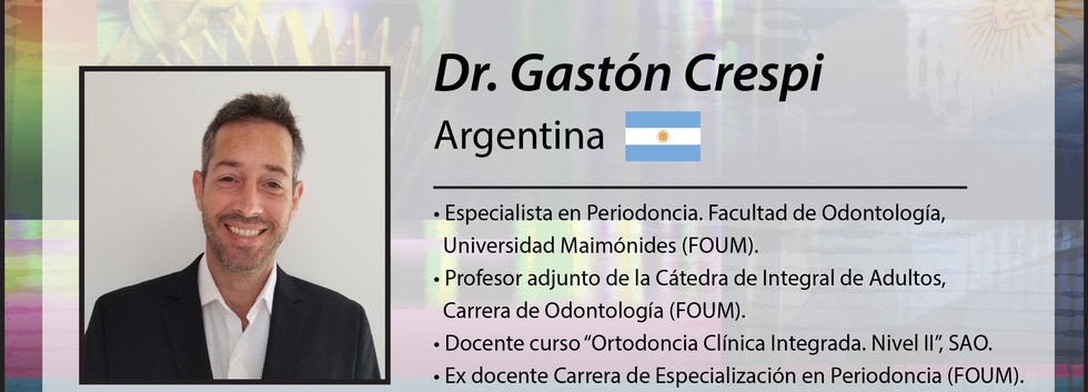 Dr. Gastón Crespi