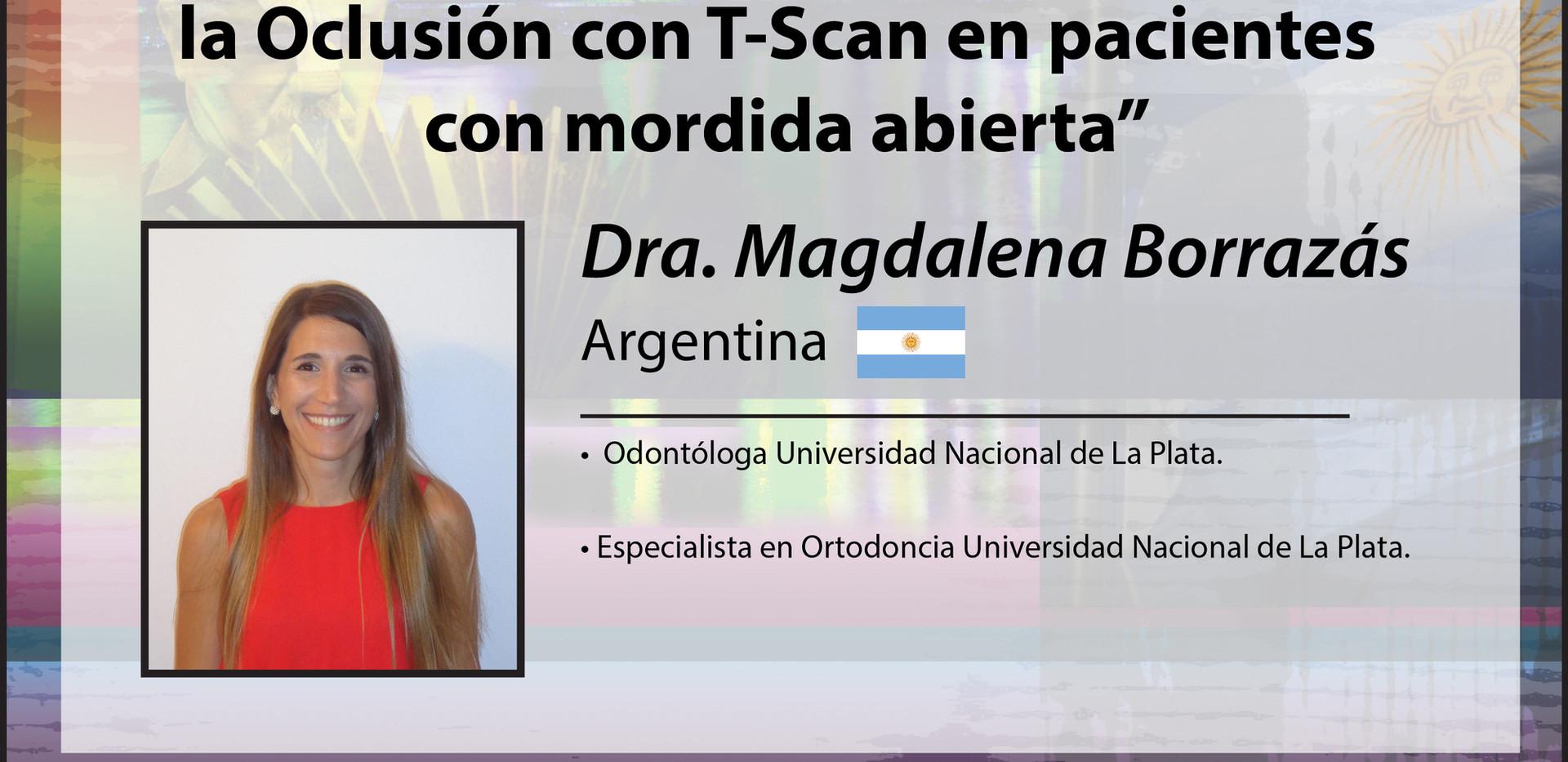 Dra. Magdalena Borrazás