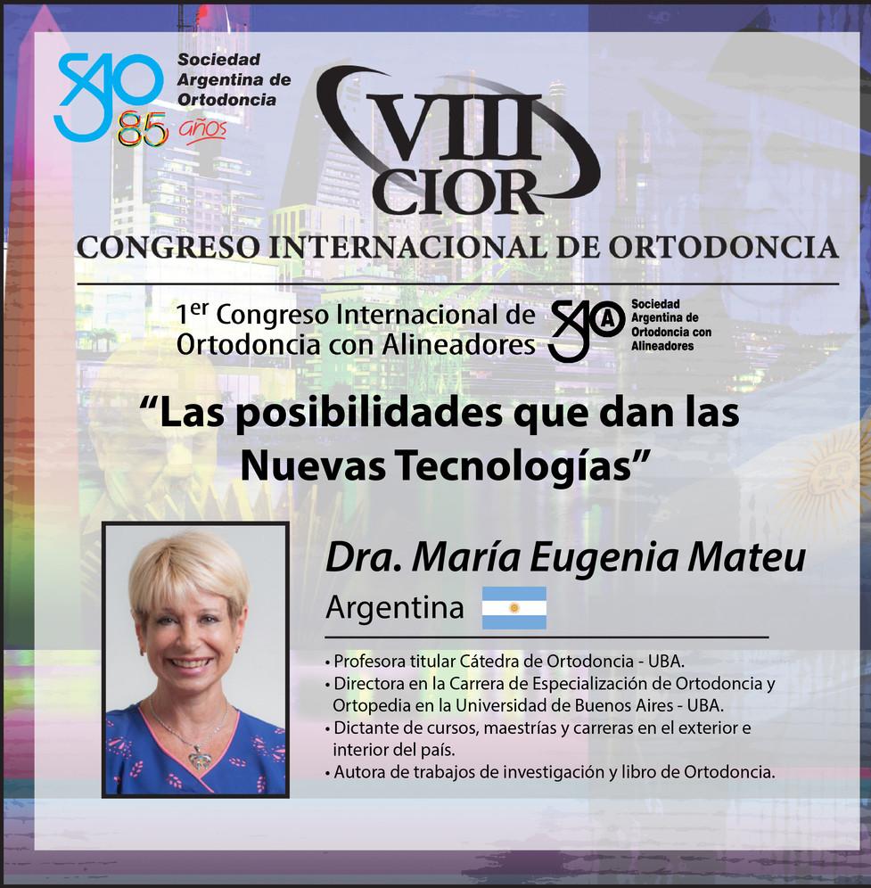 Dra. María Eugenia Mateu