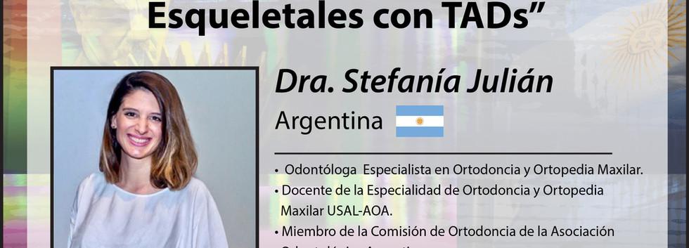 Dra. Stefanía Julián