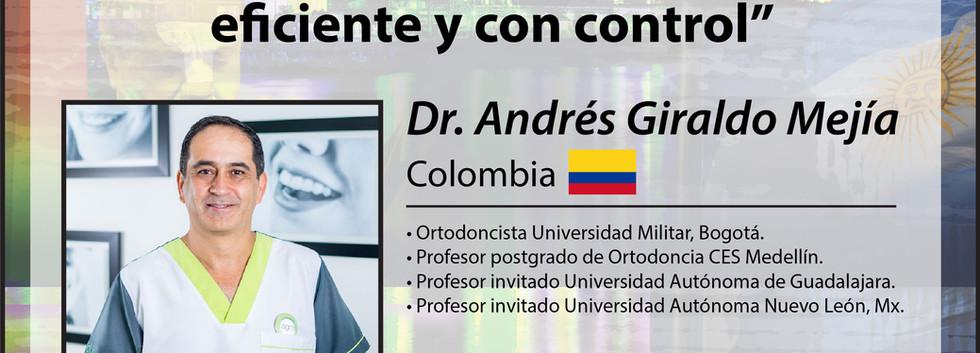 Dr. Andrés Giraldo Mejía