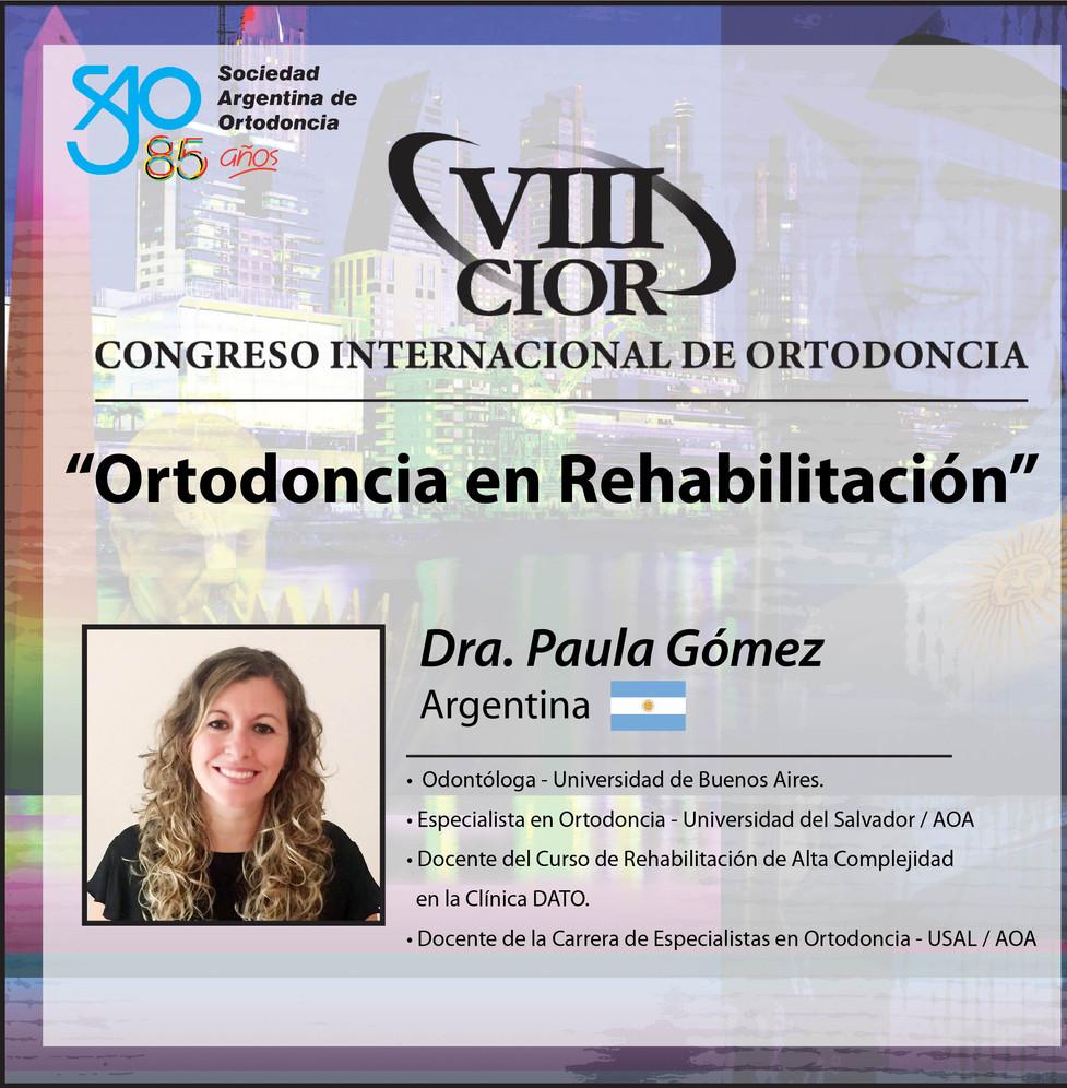 Dra. Paula Gomez