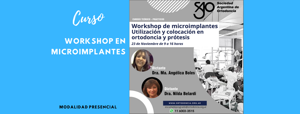 Workshop en microimplantes