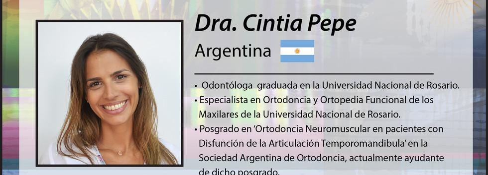Dra. Cintia Pepe