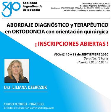 15-Curso Dra. Czerczuk 10 y 11 SEPTIEMBR