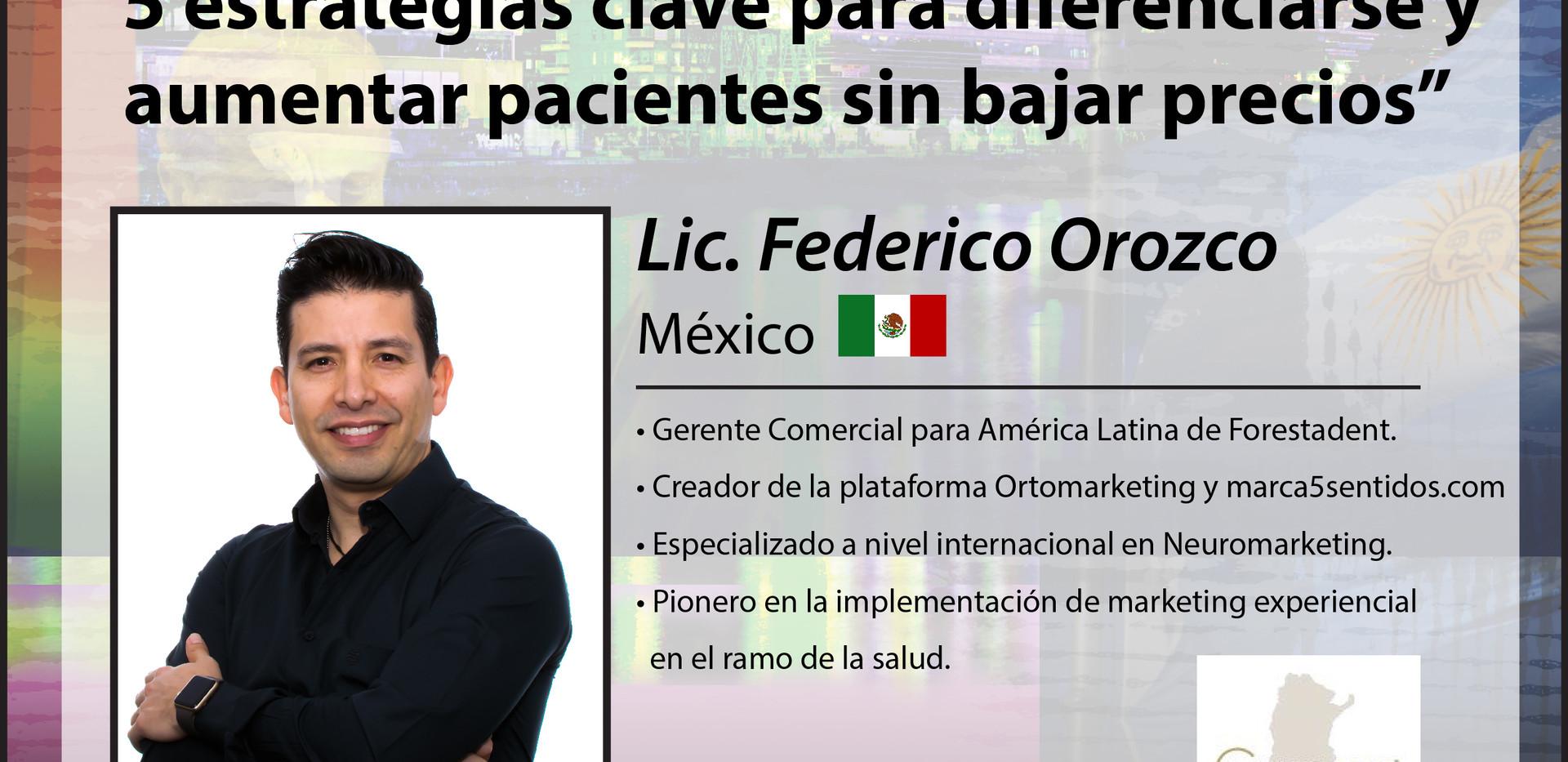 Lic. Federico Orozco