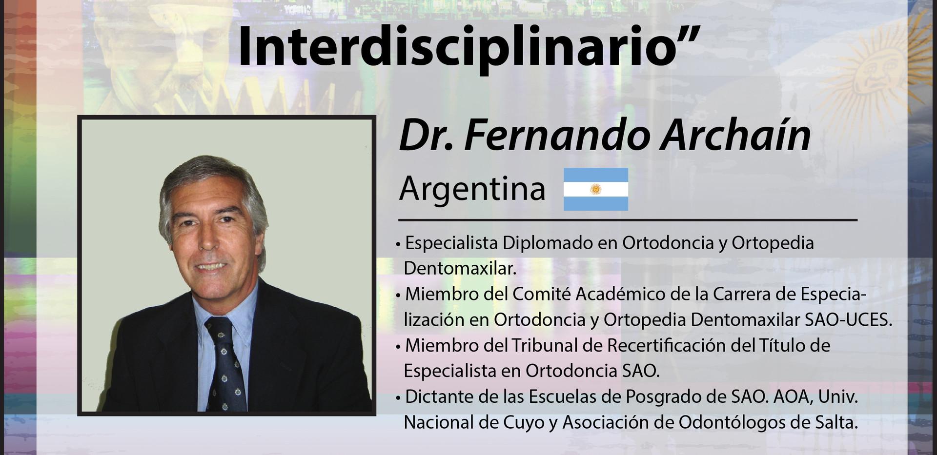 Dr. Fernando Archaín