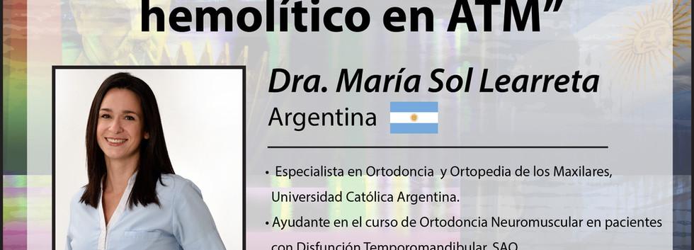 Dra. María Sol Learreta
