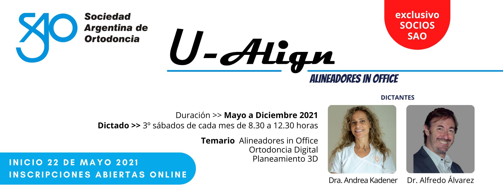 Curso Dr. Alvarez U-Align