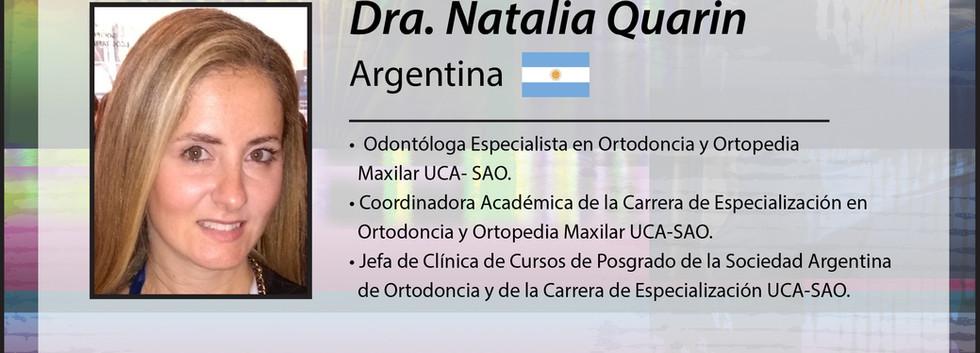 Dra. Natalia Quarin