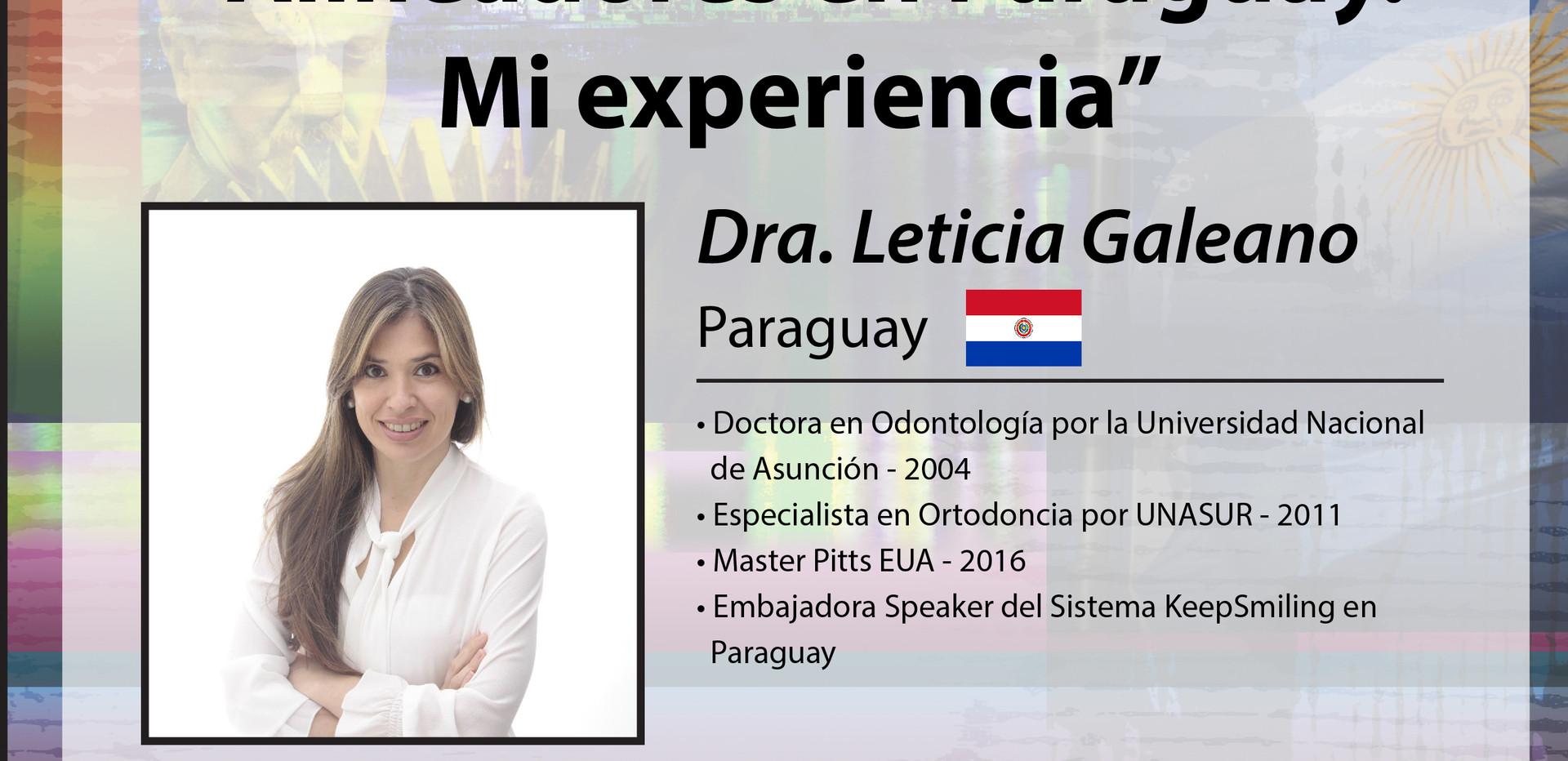 Dra. Leticia Galeano