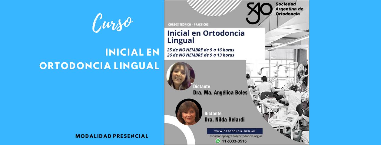 Curso Inicial en Ortodoncia Lingual