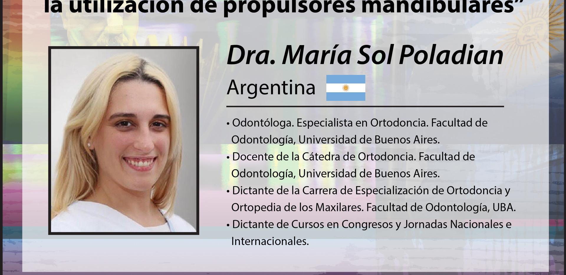 Dra. María Sol Poladian