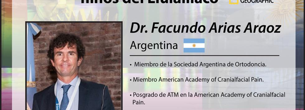 Dr. Facundo Arias Araoz
