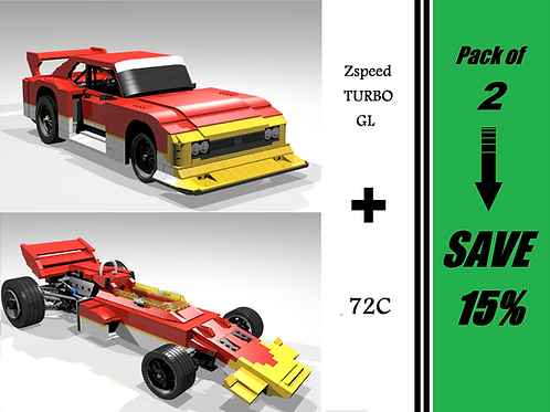 GOLD PACK: Zspeed Turbo GL & 72C